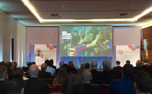 FC Barcelona Communications Director at ContentWorld